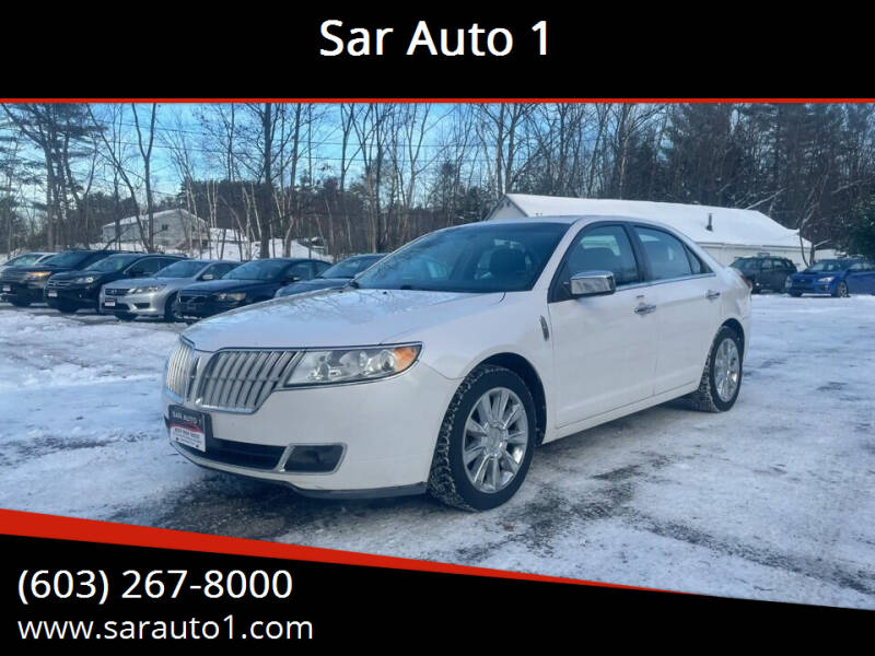 2011 Lincoln MKZ for sale at Sar Auto 1 in Belmont NH