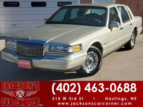 1997 Lincoln Town Car for sale at Jacksons Car Corner Inc in Hastings NE