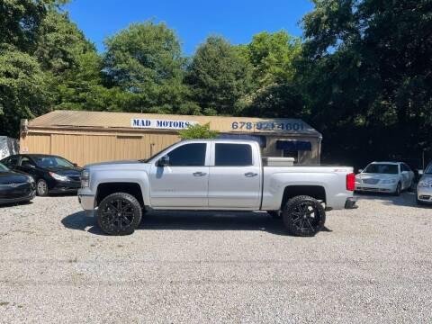 2014 Chevrolet Silverado 1500 for sale at Mad Motors LLC in Gainesville GA