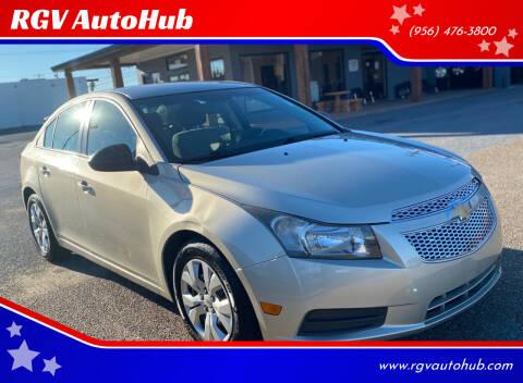 2014 Chevrolet Cruze for sale at RGV AutoHub in Harlingen TX