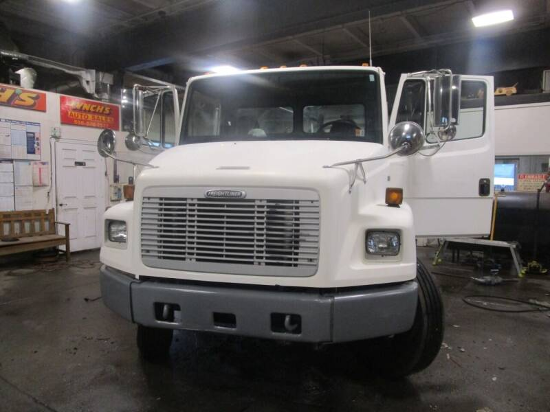 2002 Freightliner FL70 for sale at Lynch's Auto - Cycle - Truck Center in Brockton MA