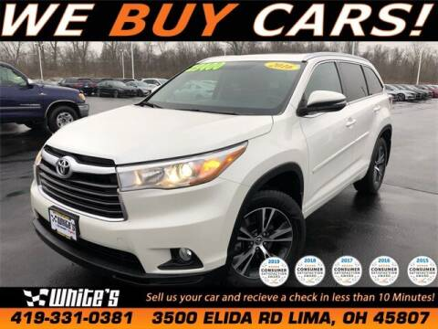 2016 Toyota Highlander for sale at White's Honda Toyota of Lima in Lima OH