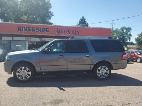 2013 Ford Expedition EL for sale at RIVERSIDE AUTO SALES in Sioux City IA