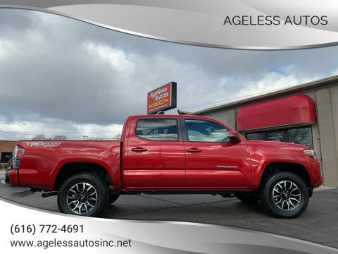 2020 Toyota Tacoma for sale at Ageless Autos in Zeeland MI