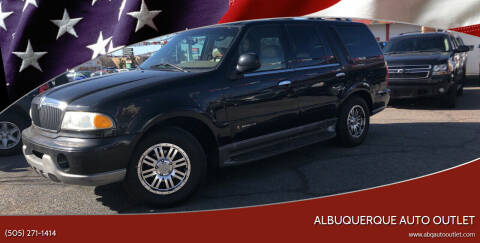 2001 Lincoln Navigator for sale at ALBUQUERQUE AUTO OUTLET in Albuquerque NM