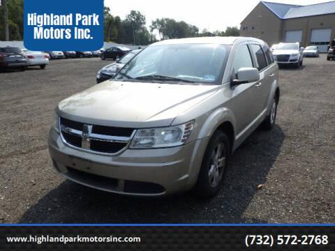 2009 Dodge Journey for sale at Highland Park Motors Inc. in Highland Park NJ