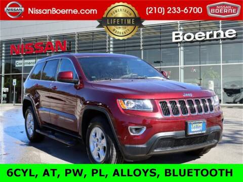 2016 Jeep Grand Cherokee for sale at Nissan of Boerne in Boerne TX