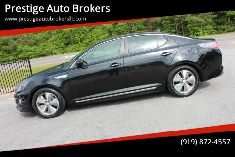 2014 Kia Optima Hybrid for sale at Prestige Auto Brokers in Raleigh NC