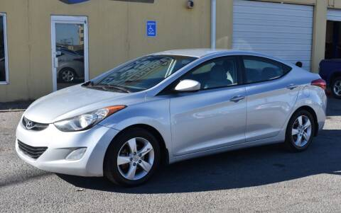 2013 Hyundai Elantra for sale at Buy Here Pay Here Lawton.com in Lawton OK
