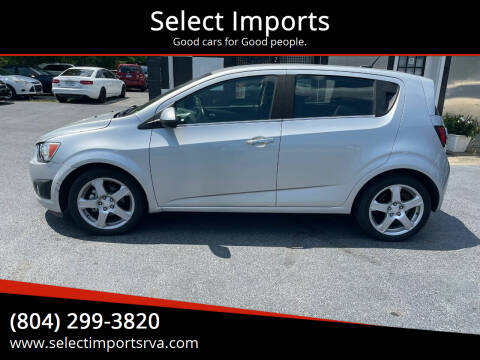 2013 Chevrolet Sonic for sale at Select Imports in Ashland VA