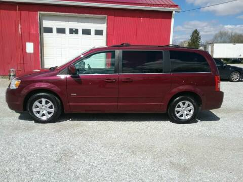 2008 Chrysler Town and Country for sale at MIKE'S CYCLE & AUTO - Mikes Cycle and Auto (Liberty) in Liberty IN