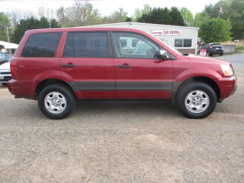 2003 Honda Pilot for sale at Hickory Wholesale Cars Inc in Newton NC