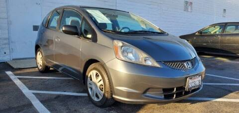 2011 Honda Fit for sale at ADVANTAGE AUTO SALES INC in Bell CA