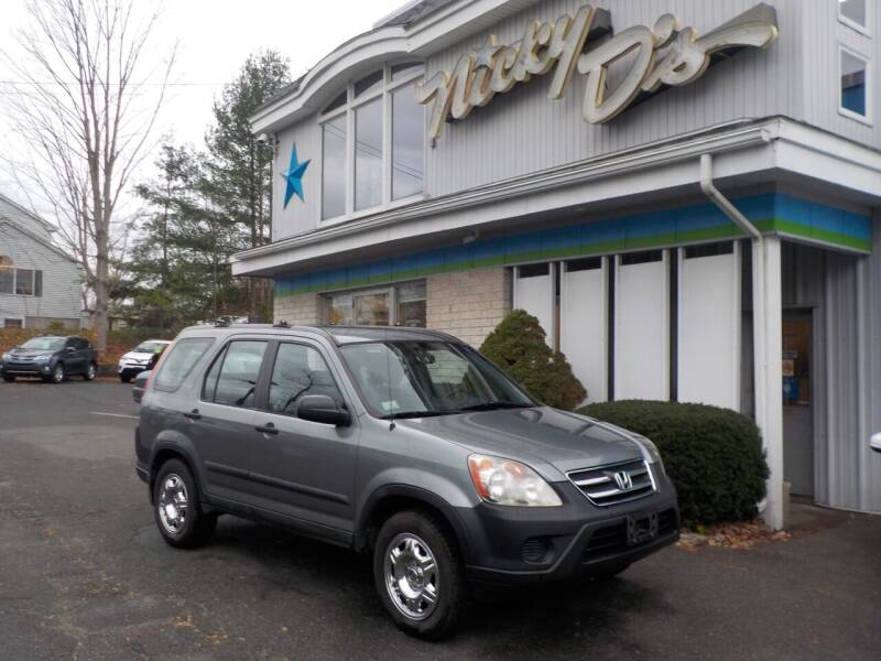 2006 Honda CR-V for sale at Nicky D's in Easthampton MA