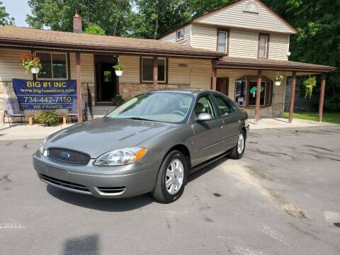 2004 Ford Taurus for sale at BIG #1 INC in Brownstown MI