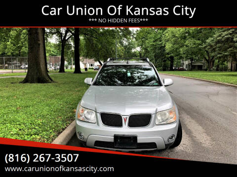 2006 Pontiac Torrent for sale at Car Union Of Kansas City in Kansas City MO