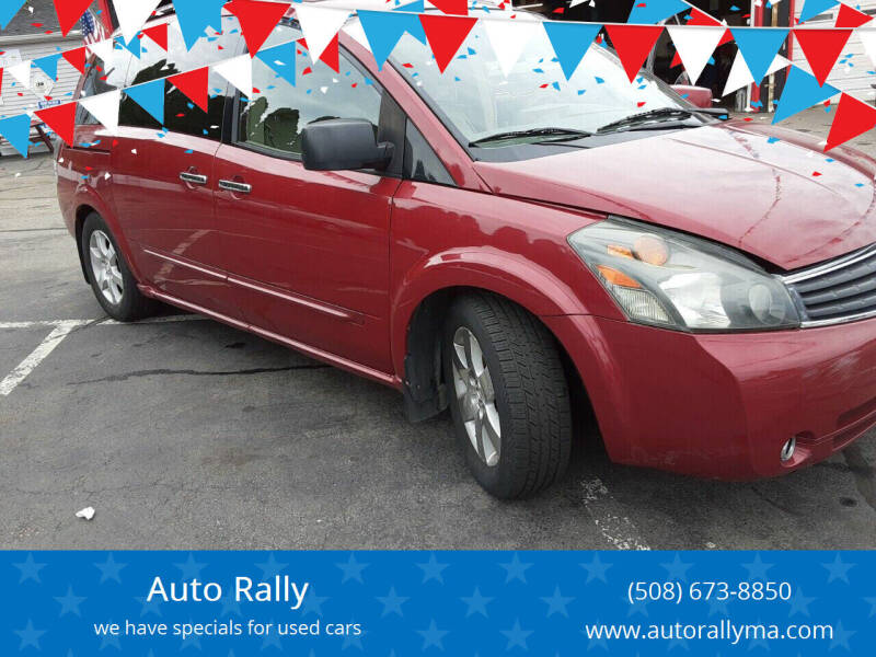 2007 Nissan Quest for sale at Auto Rally in Fall River MA