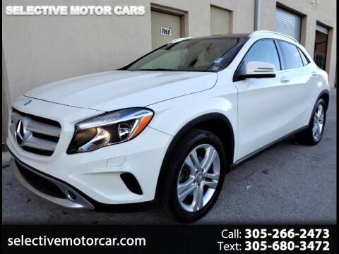 2016 Mercedes-Benz GLA for sale at Selective Motor Cars in Miami FL