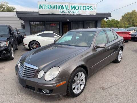 2009 Mercedes-Benz E-Class for sale at International Motors Inc. in Nashville TN