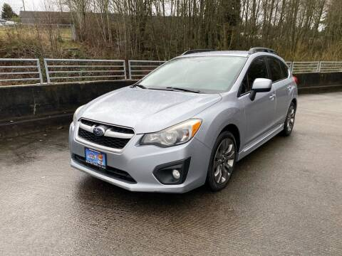 2012 Subaru Impreza for sale at Zipstar Auto Sales in Lynnwood WA