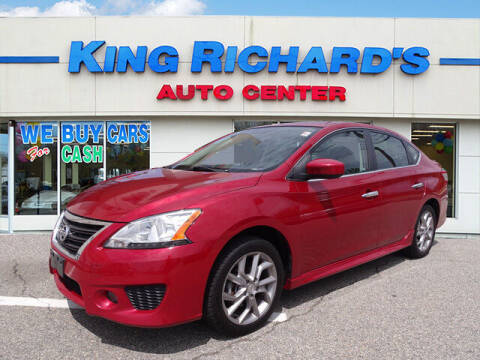 2014 Nissan Sentra for sale at KING RICHARDS AUTO CENTER in East Providence RI