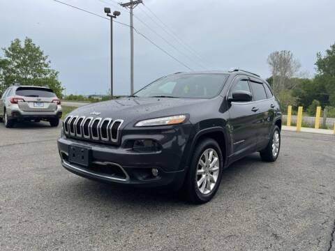 2016 Jeep Cherokee for sale at Instant Auto Sales - Lancaster in Lancaster OH