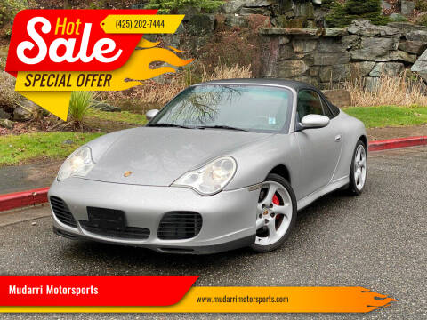 2004 Porsche 911 for sale at Mudarri Motorsports in Kirkland WA