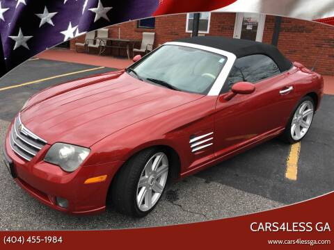 2005 Chrysler Crossfire for sale at Cars4Less GA in Alpharetta GA