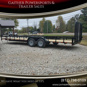 "2020 Heartland 24'x 81 1/2""Utility trailer for sale at Gaither Powersports & Trailer Sales in Linton IN"