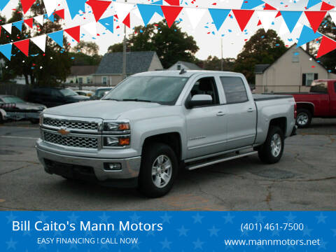2015 Chevrolet Silverado 1500 for sale at Bill Caito's Mann Motors in Warwick RI