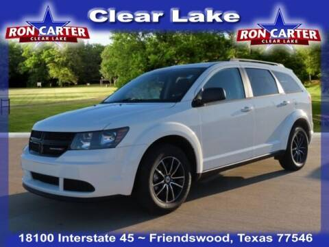 2018 Dodge Journey for sale at Ron Carter  Clear Lake Used Cars in Houston TX