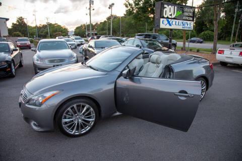 2012 Infiniti G37 Convertible for sale at EXCLUSIVE MOTORS in Virginia Beach VA