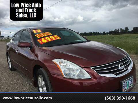 2012 Nissan Altima for sale at Low Price Auto and Truck Sales, LLC in Salem OR