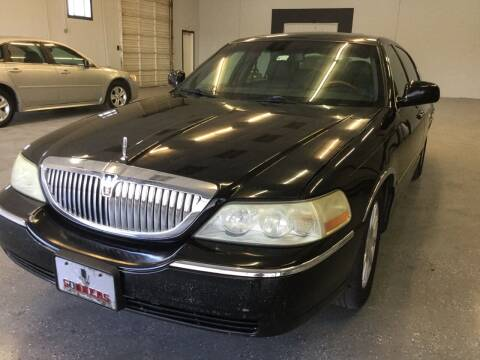 2007 Lincoln Town Car for sale at LOWEST PRICE AUTO SALES, LLC in Oklahoma City OK