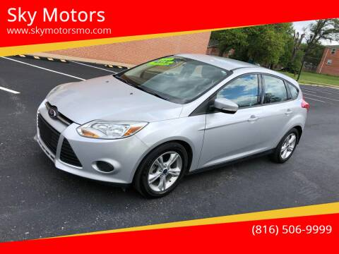 2013 Ford Focus for sale at Sky Motors in Kansas City MO