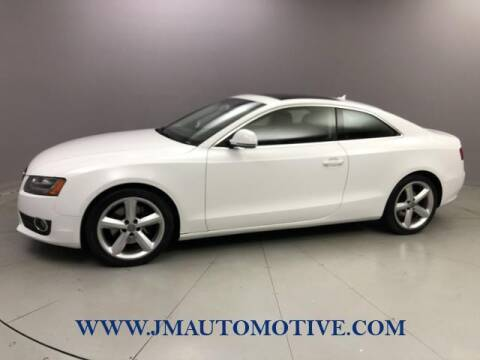2009 Audi A5 for sale at J & M Automotive in Naugatuck CT