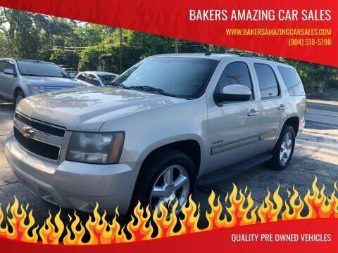 2010 Chevrolet Tahoe for sale at Bakers Amazing Car Sales in Jacksonville FL