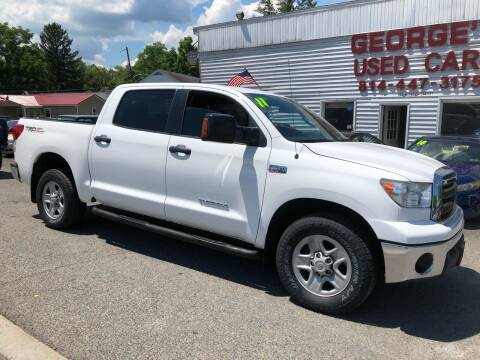 2011 Toyota Tundra for sale at George's Used Cars Inc in Orbisonia PA