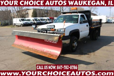 2004 Chevrolet Silverado 3500 for sale at Your Choice Autos - Waukegan in Waukegan IL