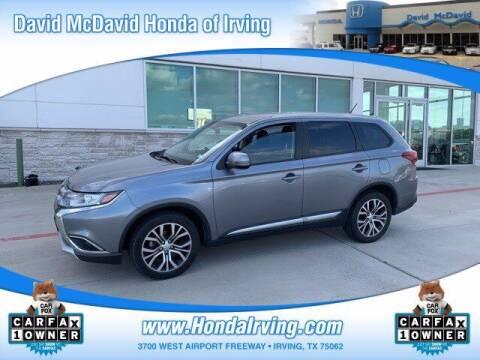 2016 Mitsubishi Outlander for sale at DAVID McDAVID HONDA OF IRVING in Irving TX