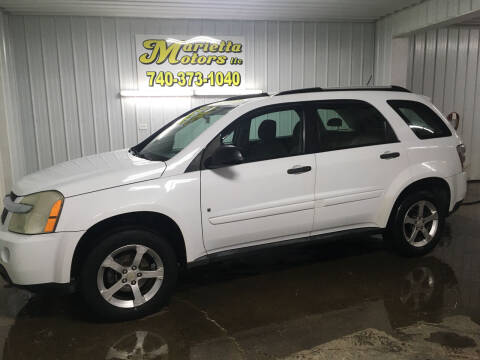 2007 Chevrolet Equinox for sale at MARIETTA MOTORS LLC in Marietta OH