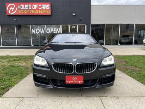 2014 BMW 6 Series for sale at HOUSE OF CARS CT in Meriden CT