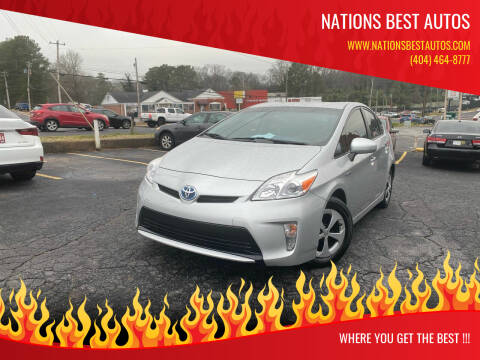 2013 Toyota Prius for sale at Nations Best Autos in Decatur GA