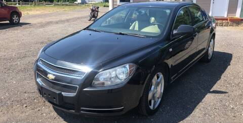 2008 Chevrolet Malibu for sale at AUTO OUTLET in Taunton MA