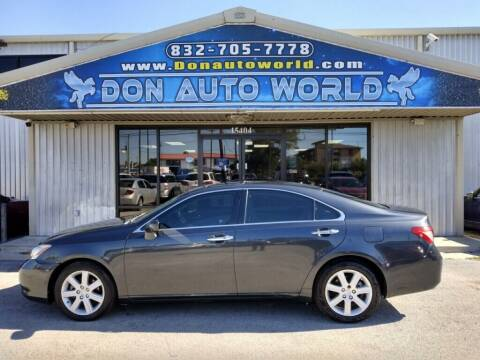 2008 Lexus ES 350 for sale at Don Auto World in Houston TX