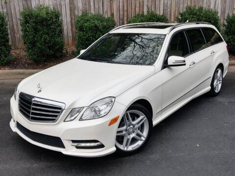 2013 Mercedes-Benz E-Class for sale at Mich's Foreign Cars in Hickory NC
