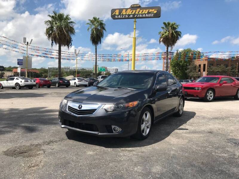 2012 Acura TSX for sale at A MOTORS SALES AND FINANCE - 5630 San Pedro Ave in San Antonio TX