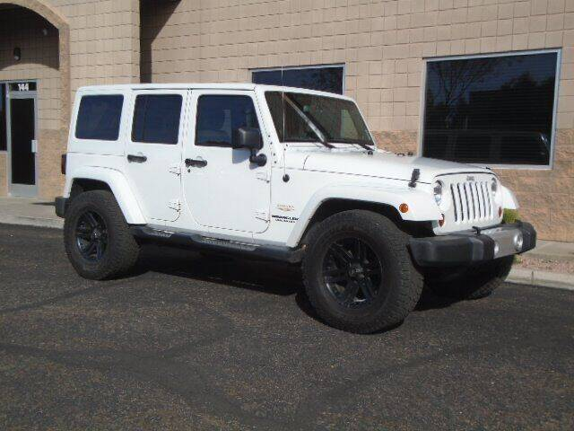2013 Jeep Wrangler Unlimited for sale at COPPER STATE MOTORSPORTS in Phoenix AZ