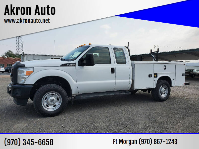 2015 Ford F-350 Super Duty for sale at Akron Auto in Akron CO