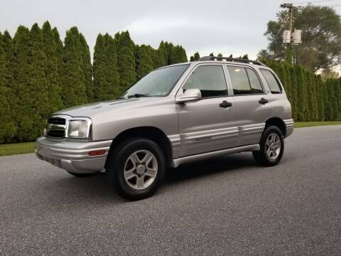 2002 Chevrolet Tracker for sale at Kingdom Autohaus LLC in Landisville PA